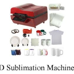 3D sublimation printing machine ST 3042