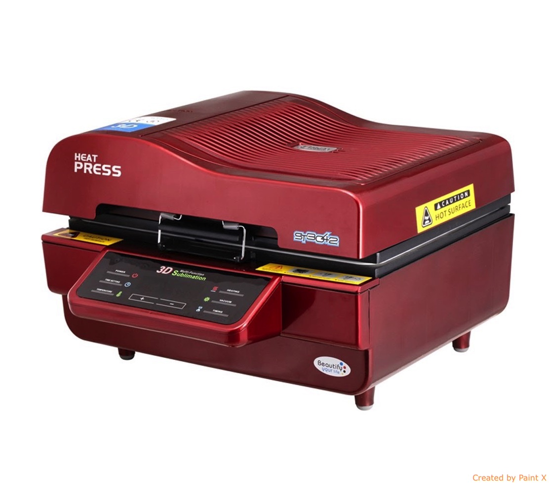 3D Sublimation Vacuum Printing Machine Suppliers in India